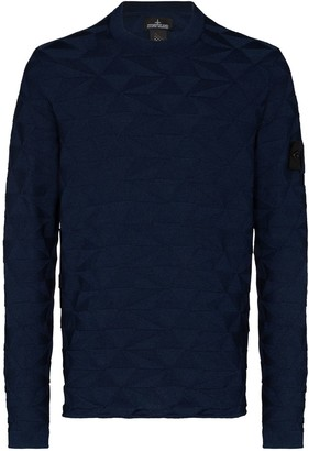 Stone Island Shadow Project Cotton-Jacquard Jumper