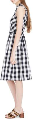 J.Crew Gingham Button Down Dress