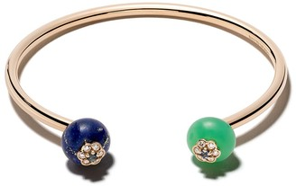 David Morris 18kt rose gold Forest Berry bangle