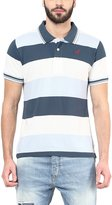 American Crew Men's Polo Collar Stripes T-Shirt -XL (AC55A-XL)