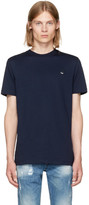 McQ Navy Swallow Patch T-shirt