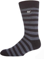 JCPenney HEAT HOLDERS Heat Holders Striped Thermal Crew Socks