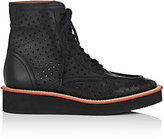 Givenchy MEN'S PHILIPPO PERFORATED LEATHER BOOTS