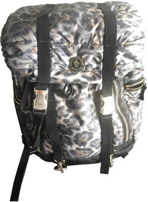 Moncler Black Synthetic Backpacks