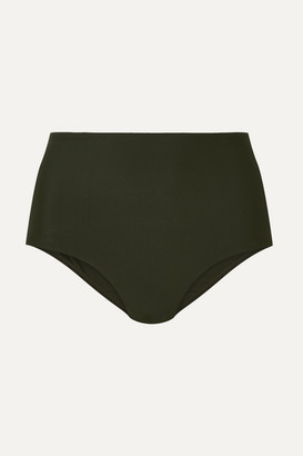 Matteau - The High Waist Bikini Briefs - Emerald