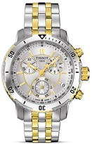 Tissot PRS 200 Men's Silver PVD Quartz Sport Watch, 42mm