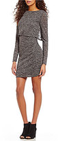 Daniel Cremieux Lilly Knit Long Sleeve Popover Dress
