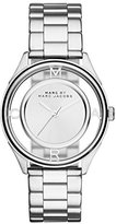 Marc by Marc Jacobs Women's MBM3412 Tether Analog Display Analog Quartz Silver-Tone Watch