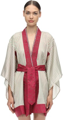 Lvr Sustainable Hand-Embroidered Kimono