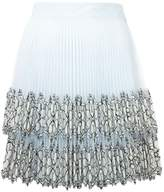 Christopher Kane pleated mini skirt