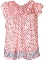 Ulla Johnson floral shift blouse