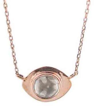 Polki Diamond Evil Eye Necklace