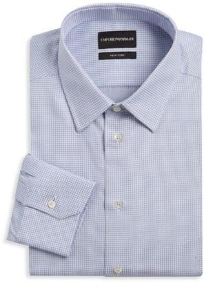 Emporio Armani Pin Dot Dress Shirt
