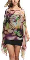 MEXUD Women Beach Dress Cover up Kaftan Chiffon Sarong Summer Wear Swim Bikini Summer