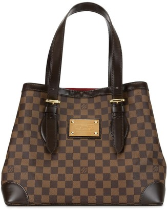 Louis Vuitton 2010 pre-owned Damier Ebene Hampstead MM tote