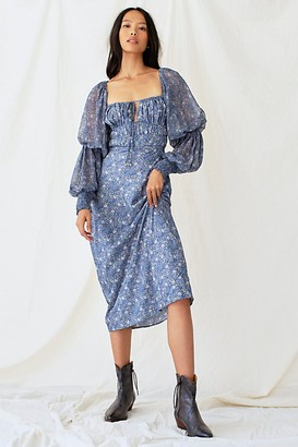 Free People Aglow Midi Dress