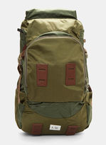 F/CE Satin Big Travel Backpack in Khaki