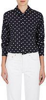 Comme des Garcons Women's Polka Dot Voile Button-Front Blouse