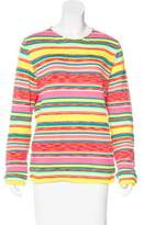 Comme des Garcons Striped Knit Sweater