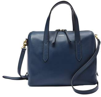 Fossil Sydney Satchel Handbags Twilight