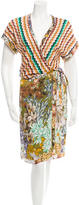 Missoni Wrap Midi Dress