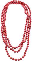 Barse Genuine Stone Necklace MODEN01RMAG (Women's)