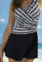 Sunflair Beach Fashion One-Piece Skirted Swimsuit