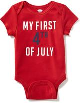 Old Navy July 4th Graphic Bodysuit for Baby