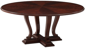 Ralph Lauren Home Basalt Dining Table - Penthouse Mahogany