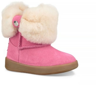 Baby Girl's Ramona Faux-Shearling & Suede Boot