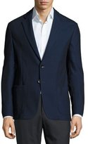 Armani Collezioni Soft Two-Button Sport Jacket, Navy