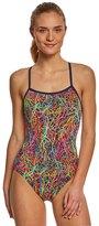 Funkita Women's Pulmonary Party Single Strap One Piece Swimsuit 8148399
