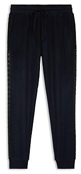 The Kooples Lace Trim Jogger Pants