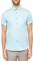 Ted Baker Beachee Regular Fit Button Down Shirt