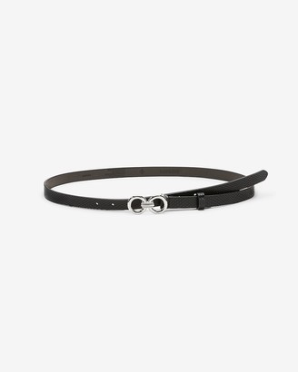 Express Skinny Knotted Buckle Belt
