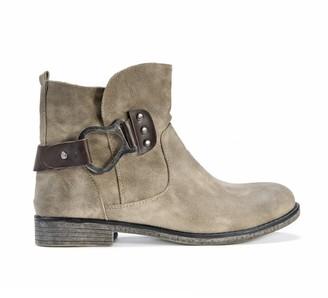 Muk Luks Women's Hayden Boots - Medium Beige