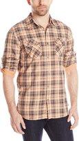 Dakota Grizzly Men's Brewer Long Sleeve Plaid Shirt