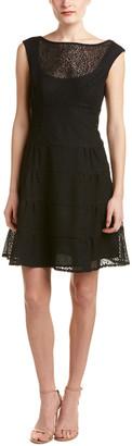 Nanette Lepore Leopard Lace Dress