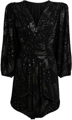 Isabel Marant Vienna Mini Wrap Dress