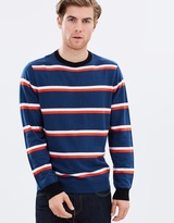 Stripe Crewneck Knit