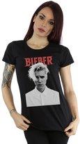 Justin Bieber Women's White Shirt T-Shirt