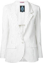 GUILD PRIME striped blazer - women - Cotton - 34