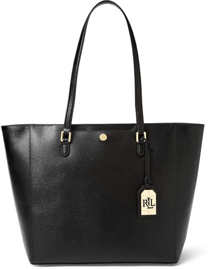 Ralph Lauren Saffiano Leather Halee Tote