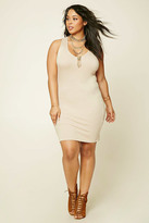 Forever 21 Plus Size Ribbed Tank Dress