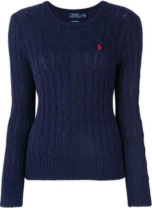 Polo Ralph Lauren Julianna logo-embroidered jumper