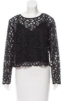 Trina Turk Scalloped Lace Top w/ Tags