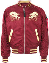 Alpha Industries Japan embroidered bomber jacket