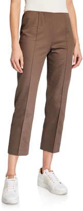Agnona Cotton Slim Capri Pants