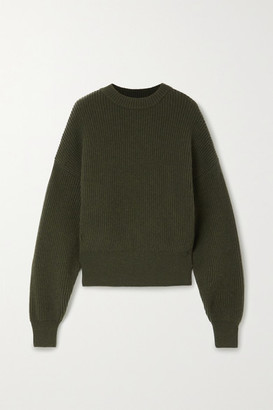 Cordova Megeve Ribbed Merino Wool Sweater - Army green