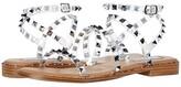 Steve Madden Travel Flat Sandal (Clear) Women's Shoes
